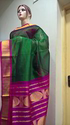 Silk Cotton Korvai Sarees