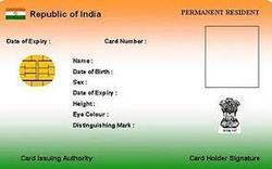 Pre Printed Aadhar Card
