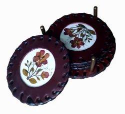 Medieval Leather Tea Coaster