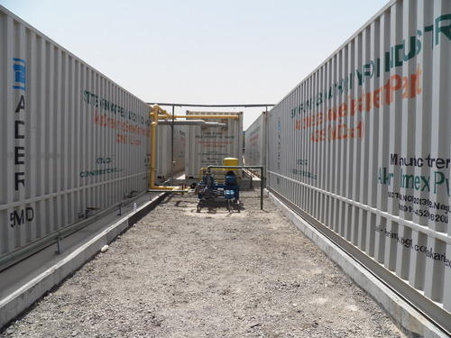 Containerized Large Size Sewage Treatment Plant