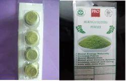 Moringa Leaf Powder in Blister Pack