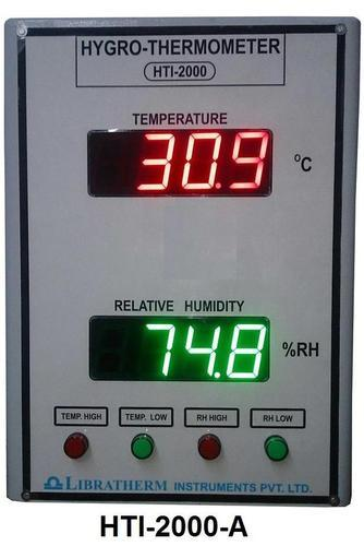 Digital Hygro Thermometer with 2 Inch with Alarm Indication