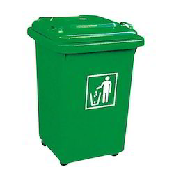Waste Segregation Trash Bin Heavy Duty Plastic