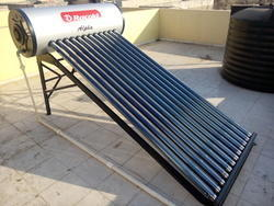 Solar Water Heater - Evacuated Tube Collector Type