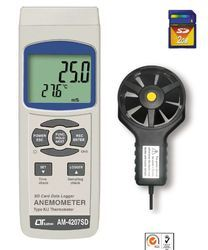 SD Card Real Time Data Recorder Anemometer