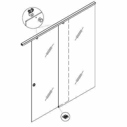 Sliding Gear Wooden Sliding Door System Wholesale Trader From