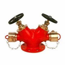 Double Headed Hydrant Valves