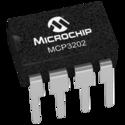 MCP3202-BI/P Integrated Circuits