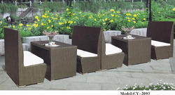 Wicker Bar Sofa Set