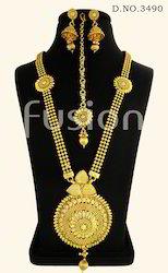 Traditional Antique Long Necklace Set