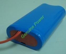 lithium ion 7 4v 2200mah icr battery