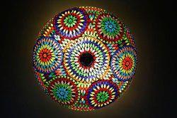 Multi Mosaic Ceiling Lamp