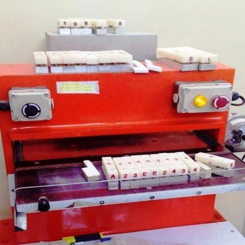 Number Plate Making Machine