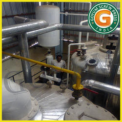 Sunflower Oil Refinery Plant