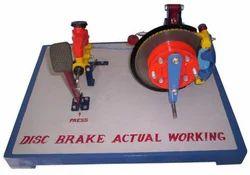 Disc Brake Actual Working Model