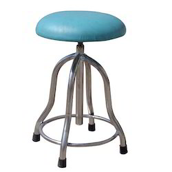 Patient Stool Revolving (Cushioned Top)