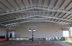 Basket Ball Shed Fabrication Service