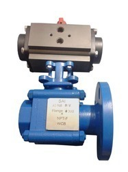 Ball Valve - Flange X N P T-F-, Actuator Operated