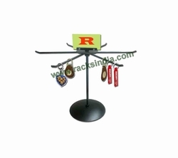Table Top Revolving Stand For Key Chains