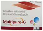 Ginseng  Multivitamin Multimineral  Antioxidant