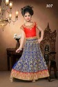 Heavy Embroidered Kids Lehenga