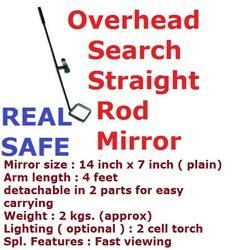 Overhead Search Straight Rod Mirror
