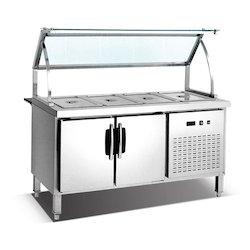 Cold Bain Marie Service Counter