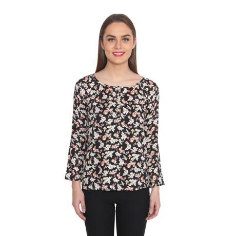 Floral Rayon Top