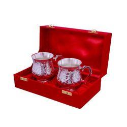 Brass Antique Mug Set