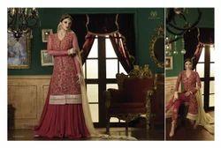 Anarkali Embroidered Salwar Kameez