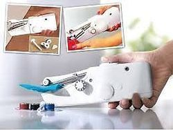 Portable Cordless Electric Sewing Machine Handheld Handy