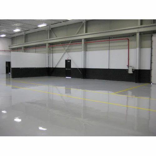 Anti Static Flooring Service : Anti static epoxy flooring services in jyoti nagar west