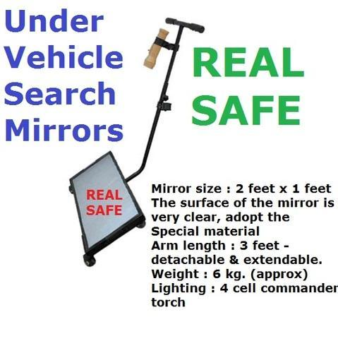 Security Equipment Under Vehicle Search Mirrors