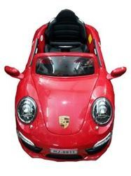 porsche red color new brand battery operated ride on car