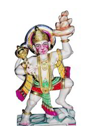 Marble God Hanuman Statue