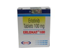 Erlonat 100 Mg Erlotinib Tablets