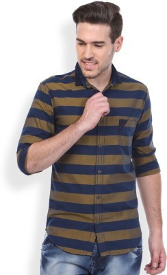 Cross Striped Shirts