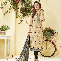 Designer Georgette Embroidery Dress Material