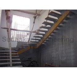 MS Staircase With Bottom Tube Type