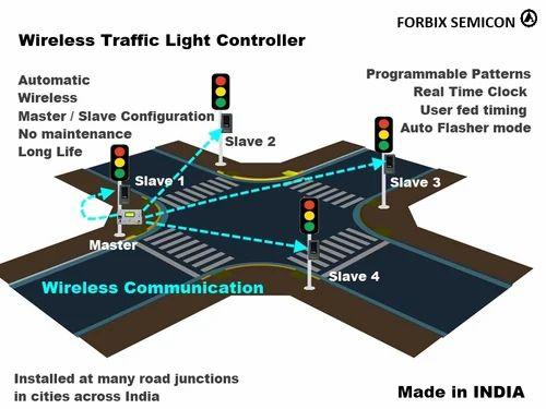 Traffic Light Control Wireless Traffic Light Controller