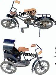 Decorative Iron Metal Cycles