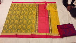 Weaving Kora Silk Saree