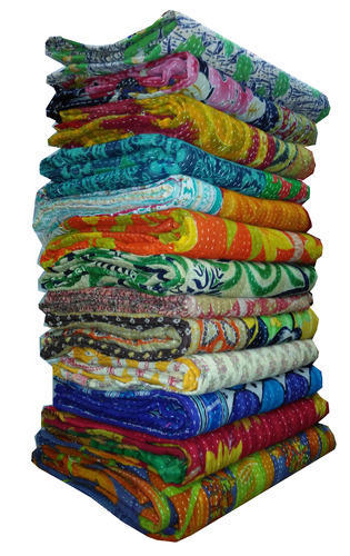 Indian Cotton Quilts Bedspread