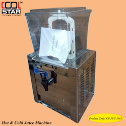 Hot and Cold Juice Machine
