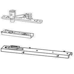 Aluminium Door Accessories - Top Centre and Bottom Strap