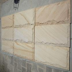 Teak Rock Face Mosaic Tile