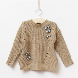 Girls Knitted Pullovers