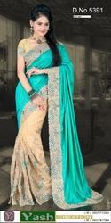 Fancy Silky Fancy Net Saree