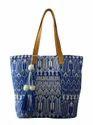 Jacquard Tote Bag