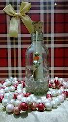 Glass Bottle Wedding Invites With Custom Printed Invitation